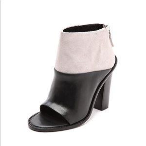 """Tibi """"Ondria"""" open toe booties"""
